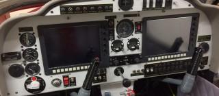 Le full-glass cockpit qui équipera notre avion